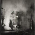 O. Winston Link (American, 1914-2001) Washing J Class 605, Shaffer's Crossing Yards, Roanoke, Virginia, 1955, printed 1999 (Lot 135, Estimate: $2,500-3,500)
