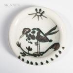 Pablo Picasso (Spanish, 1881-1973) Bird under the Sun, 1952 (Lot 93, Estimate: $800-1,200)