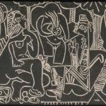 Pablo Picasso (Spanish, 1881-1973) Le déjeuner sur l'herbe, 1964 (Lot 99, Estimate $30,000-50,000)