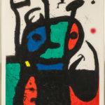 Joan Miró (Spanish, 1893-1983) Le matador, 1969 (Lot 77, Estimate: $25,000-35,000)