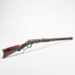 Winchester Model 1873 Deluxe Rifle, c. 1889 (Lot 102, Estimate: $7,000-9,000)
