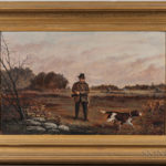 Harry Smith (American, 19th/20th Century), Autumn Hunting Scene (Lot 17, Estimate: $400-600)