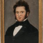 Attributed to William Mathew Prior (Massachusetts/Maine, 1806-1873), Portrait of a Gentleman (Lot 216, Estimate: $400-600)