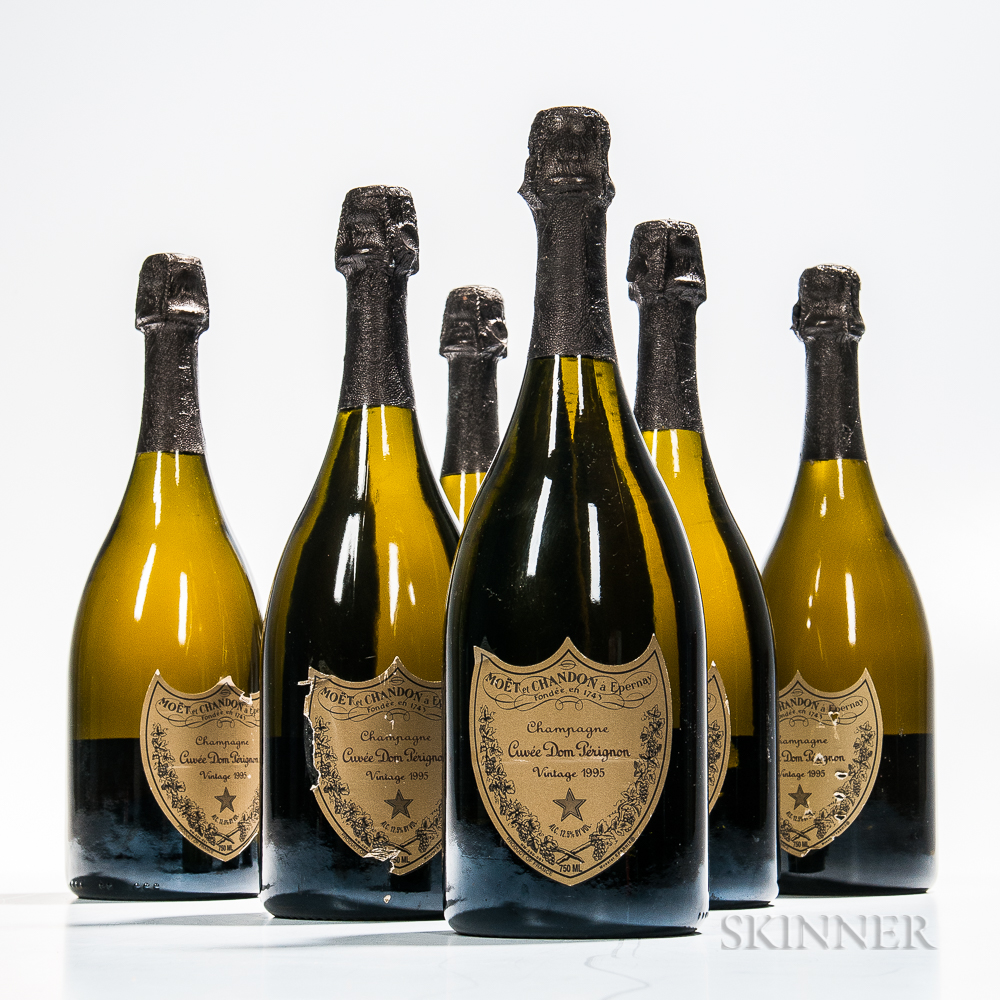 Moet & Chandon Dom Perignon 1995 (Estimate: $900-1,500)