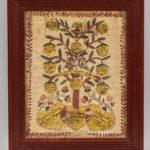 Watercolor Connor Family Record, attributed to Joseph Odiorne, early 19th century (Lot 1033, Estimate: $400-600)