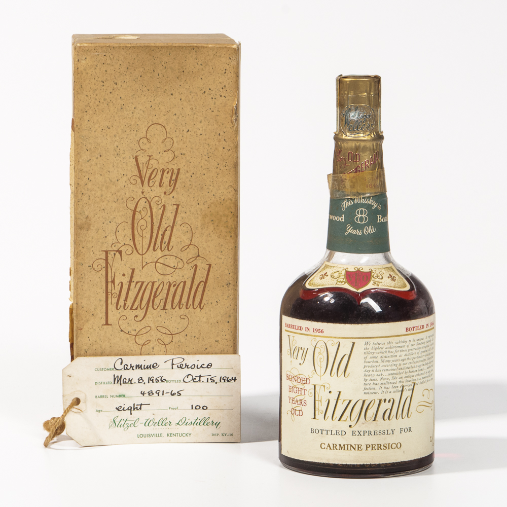 Very Old Fitzgerald 8 Years Old 1956, 1 4/5 quart bottle (oc) (Estimate: $1,500-2,000)