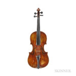 Italian Violin, Lorenzo Ventapane, Naples, c. 1843 (Lot 128, Estimate: $15,000-25,000)