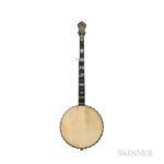 A.C. Fairbanks Whyte Laydie No. 7 5-string Banjo, c. 1908 (Lot 2, Estimate: $3,000-5,000)