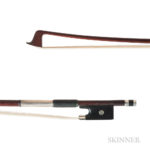 French Silver-mounted Violin Bow, Georges Léon Lamy, c. 1905 (Lot 93, Estimate: $6,000-8,000)