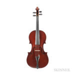 French Violin, Gand & Bernardel, Paris, 1887 (Lot 127, Estimate: $8,000-12,000)