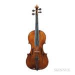 Italian Violin, Paolo Antonio Testore, Milan, c. 1759 (Lot 129, Estimate: $40,000-60,000)
