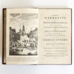 A Short Narrative of the Horrid Massacre in Boston, Perpetrated in the Evening of the Fifth Day of March 1770 by Soldiers of the XXIXth Regiment (Lot 55, Estimate: $7,000-9,000)