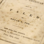 Poe, Edgar Allan (1809-1849) Tales, First Edition, in Paper Wrappers (Lot 224, Estimate: $60,000-80,000)