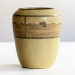 Rare Annie E. Aldrich and Sarah Tutt Marblehead Pottery Vase (Estimate: $10,000-20,000)