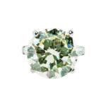 Platinum and Diamond Solitaire (Lot 350, Estimate: $80,000-100,000)