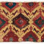 Anatolian Rug Fragment, Turkey, 16th century (Lot 71, Estimate: $5,000-6,000)