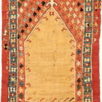 Early Ottoman Prayer Kilim, central Turkey, 18th century (Lot 66, Estimate: $2,000-3,000)