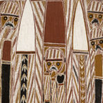 Aboriginal Bark Painting, attributed to George Milpurrupurru, (1934 - 1998) c. late 1960s (Lot 69, Estimate: $1,800-2,600)