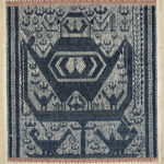 Indonesian Ritual Cloth, Tampan Darat, Lampung, Sumatra, late 19th century (Lot 54, Estimate: $10,000-15,000)