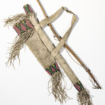 Central Plains Beaded Hide Bow Case, Bow and Quiver, c. early fourth quarter 19th century (Lot 162, Estimate: $5,000-7,000)