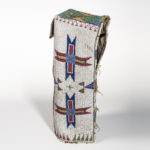 Plains Hide Beaded Cradle, Lakota, c. last quarter 19th century (Lot 265, Estimate: $8,000-12,000)