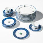 "Cartier ""La Maison Venitienne"" Dinnerware Service for Eight (Lot 1003, Estimate: $200-250)"