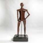 Carved and Painted Articulated Trade Figure, America, 1900-10 (Lot 25, Estimate: $6,000-8,000)