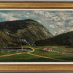 Frank Henry Shapleigh (New Hampshire, 1842-1906) The Crawford Notch, White Mountains (Lot 193, Estimate: $8,000-12,000)