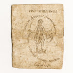 Massachusetts August 18, 1775 5 Shillings, MA-162 (Lot 2158, Estimate: $200-300)