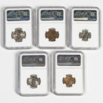 1937 East Hopei Five-coin Set (Lot 2103, Estimate: $300-500)