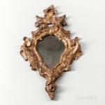 Gilt Carved Rococo Mirror (Lot 1667, Estimate: $500-1,000)