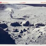 Apollo 17, Lunar Landscape, Panoramic View, Twelve Photographs (Lot 1318, Estimate: $800-1,200)