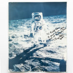 Apollo 11, Buzz Aldrin at Tranquility Base, July 11, 1969, Large-Format Photograph Signed by Aldrin (Lot 1422A, Estimate: $2,000-3,000)