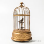 Singing Bird Automaton (Lot 1547, Estimate: $600-800)