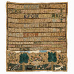 "Needlework Sampler ""Hannah Byrn,"" made at Sarah Stivours' School, Salem Massachusetts, dated 1788 (Lot 85, Estimate: $1,500-2,500)"