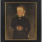 Sheldon Peck (Illinois/Vermont, 1797-1868), Portrait of John Newcomb (Lot 116, Estimate: $10,000-15,000)