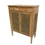 Country Maple Pie Safe with Floral Pierced-tin Panels (Lot 137, Estimate: $300-500)