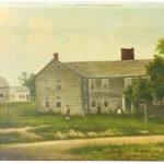 American School, 19th Century, Portrait of a House (Lot 139, Estimate: $200-400)