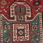Sewan Kazak Rug, Caucasus, c. 1870, 6 ft. 8 in. x 5 ft. (Lot 125, Estimate: $4,000-5,000)