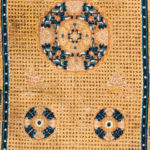 Ningxia Carpet, China, c. 1800, 9 ft. 8 in. x 5 ft. 11 in. (Lot 189, Estimate: $3,000-4,000)