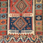 Central Anatolian Kilim, Turkey, c. 1850, 12 ft. 9 in. x 4 ft. 9 in. (Lot 116, Estimate: $1,500-2.000)