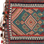 Qashqai Kilim Hammock Cradle, southwestern Iran, 19th century, 5 ft. x 2 ft. 9 in. (Lot 166, Estimate: $1,500-1,800)