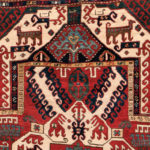 Kasim Ushag Rug, Caucasus, c. 1850, 8 ft. 6 in. x 5 ft. (Lot 126, Estimate: $4,000-5,000)