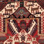 Kasim Ushag Rug, Caucasus, c. 1850, 8 ft. 6 in. x 5 ft. (Lot 126, Estimate: $4,000-5,000)