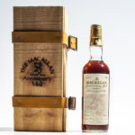 Macallan Anniversary Malt 25 Years Old 1957, 1 750ml bottle (Lot 371, Estimate: $2,500-3,000)