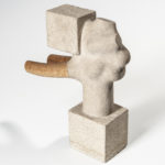 American/European School, Abstract Sculpture (Lot 1306, Estimate: $100-200)