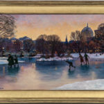 Harley Bartlett, Ice Skaters at Dusk at the Public Garden, Boston (Lot 1244, Estimate: $600-1,200)
