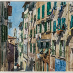 James Kramer, Street in Old Nice (Lot 1218, Estimate: $800-1,200)