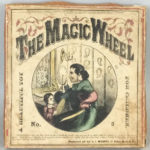 "Boxed J. Bradburn ""The Magic Wheel"" Lithographed Paper Toy (Lot 1028, Estimate: $800-1,200)"