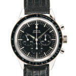 Omega Speedmaster Reference 2998-3, c. 1962 (Lot 103, Estimate: $8,000-12,000)